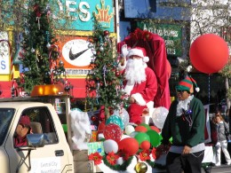 Rt. 66: Echo Park - Holiday Parade, Santa Claus
