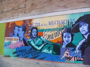 Rt. 66: Echo Park - mural, Tia de las Muchachas
