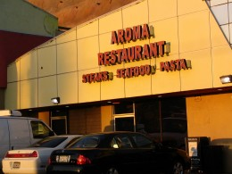 Rt. 66: Silverlake, Aroma Restaurant