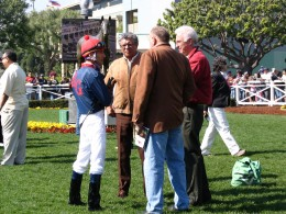 Santa Anita 2008: jockey