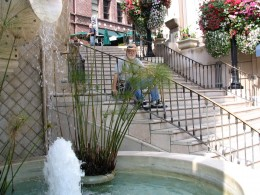 Sunset Boulevard - Part 12.5: Rodeo Drive, John Varley stairs fountain