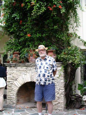 Sunset Boulevard - Part 17.5: Will Rogers State Historic Park: John Varley, patio