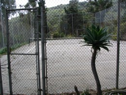 Sunset Boulevard - Part 17.5: Will Rogers State Historic Park: tennis court