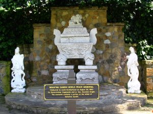 Sunset Boulevard - Part Eighteen: Self Realization Fellowship Lake Shrine: Mahatma Gandhi World Peace Memorial ashes