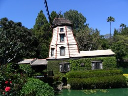 Sunset Boulevard - Part Eighteen: Self Realization Fellowship Lake Shrine: windmill 2