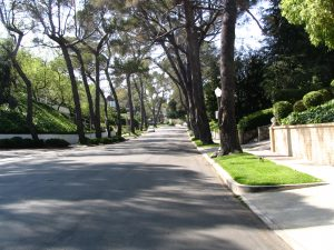Sunset Boulevard - Part Fifteen: UCLA, no parking street