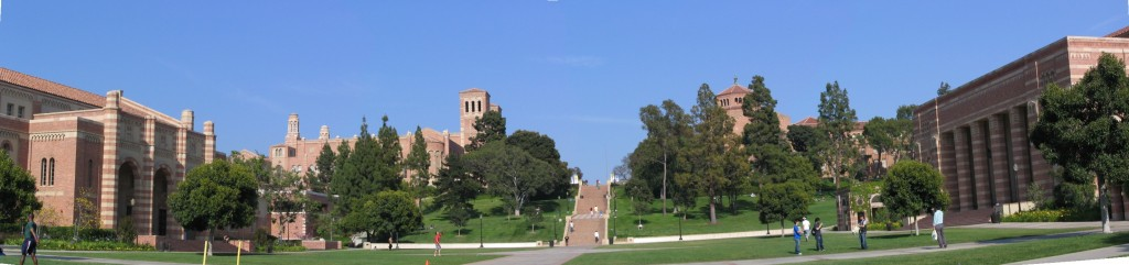 Sunset Boulevard - Part Fifteen: UCLA, panorama