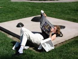 Sunset Boulevard - Part Fifteen: UCLA, sculpture 4