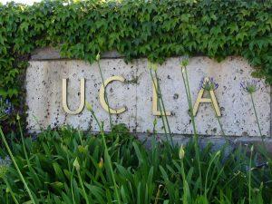 Sunset Boulevard - Part Fifteen: UCLA, sign