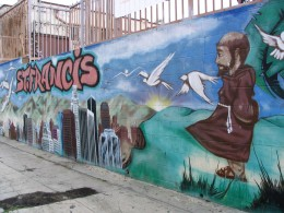 Sunset Boulevard - Part Five: The Music Box, St Francis School mural 1
