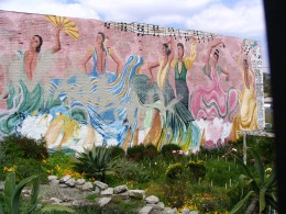 Sunset Boulevard - Part Five: The Music Box, dancers mural