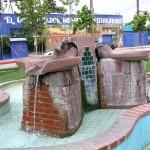 Sunset Boulevard - Part Five: The Music Box, fountain