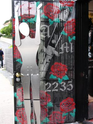 Sunset Boulevard - Part Four: Echo Park to Silverlake: door stopper sculpture