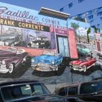 Sunset Boulevard – Part Nine: La Brea to Fairfax: Cadillac Corner mural
