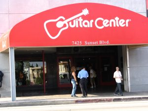 Sunset Boulevard – Part Nine: La Brea to Fairfax: Guitar Center