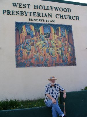 Sunset Boulevard – Part Nine: La Brea to Fairfax: John Varley, West Hollywood Presbyterian Church