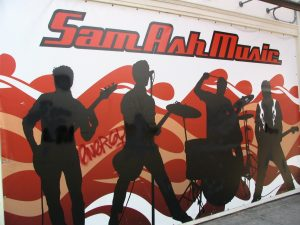 Sunset Boulevard – Part Nine: La Brea to Fairfax: Sam Ash Music