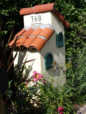 Sunset Boulevard - Part Sixteen: Brentwood, mailboxes