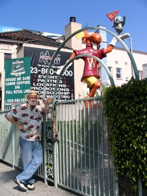Sunset Boulevard – Part Ten: The Strip: John Varley, Rocky & Bullwinkle