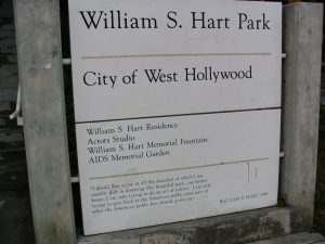 Sunset Boulevard – Part Ten: The Strip: William S Hart Park
