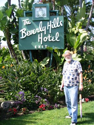Sunset Boulevard – Part Thirteen: Where the sidewalk ends: John Varley, Beverly Hills Hotel