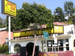 Sunset Boulevard - Part Three: Echo Park, Burrito King Mexicatessan
