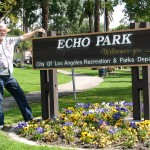 Sunset Boulevard - Part Three: Echo Park, John Varley, Echo Park sign