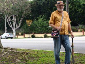 Sunset Boulevard - Part Twelve: Garbage Cans of Beverly Hills: John Varley, Beverly Hills sign