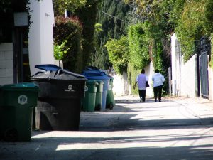 Sunset Boulevard - Part Twelve: Garbage Cans of Beverly Hills: alley 7