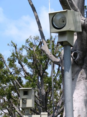 Sunset Boulevard - Part Twelve: Garbage Cans of Beverly Hills: video cameras