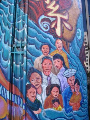 Sunset Boulevard - Part Two: Chinatown mural