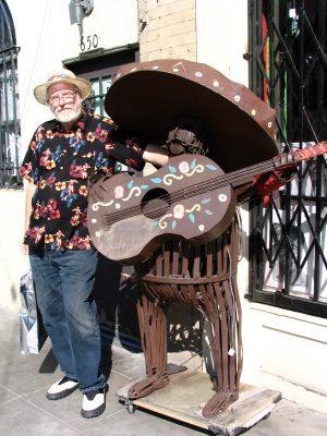 Sunset Boulevard - Part Two: John Varley, Olvera St sculpture
