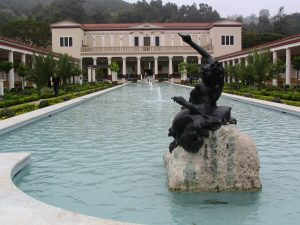 Sunset Boulevard – coda: Getty Villa, 1