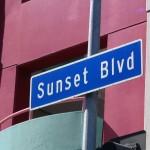 Sunset Boulevard-Part One: sign