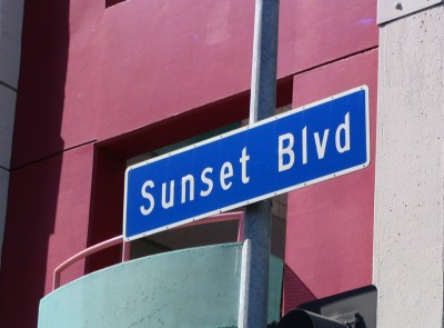 Sunset Boulevard-Part One: sign