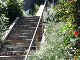 Sunset Boulevard-Part One: stairs-3