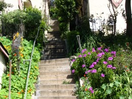Sunset Boulevard-Part One: stairs-7