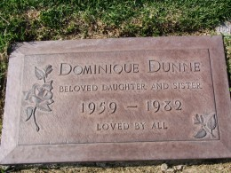 The Dead - Part 2: Pierce Brothers Westwood Village Memorial Park: Dominique Dunne