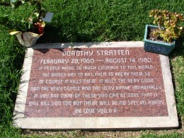 The Dead - Part 2: Pierce Brothers Westwood Village Memorial Park: Dorothy Stratten