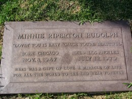 The Dead - Part 2: Pierce Brothers Westwood Village Memorial Park: Minnie Riperton