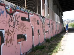 Up LA River Part 1: John Varley, graffiti