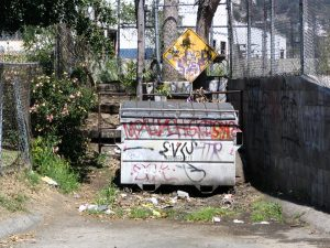 Up LA River Part 2: gap in fence