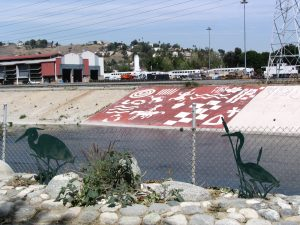 Up LA River Part 2: river mural