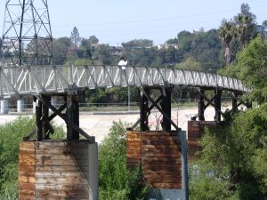Up LA River Part 3: ped bike bridge