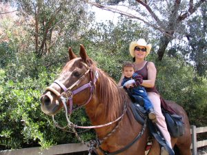 Up LA River Part 6: bonding on a horse