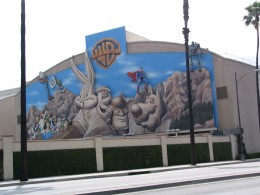 Up LA River Part 8: Warner Bros mural