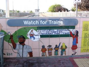 Down LA River Part 8: watch for trains tiles