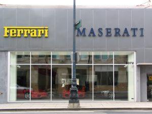 Wilshire Blvd Part 4: Ferrari Maserati