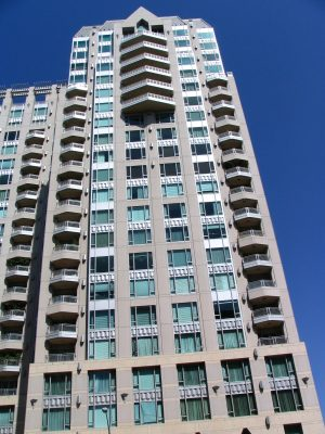 Wilshire Blvd Part 5: triangular balconies