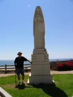 Wilshire Blvd Part 6: John Varley with Saint Monica